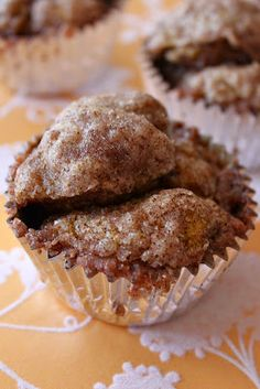 Pumpkin Monkey Bread Muffins from Baked Perfection...This whole blog is fantastic!
