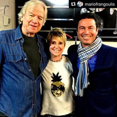 "Justin Hayward, Julie Ragins, Mario Frangoulis on tour in Australia. Shared on Instagram by Mario Frangoulis. - Edie Gasperino (@mariofrangoulisgte) on Instagram: ""#Repost @mariofrangoulis (@get_repost) ・・・ With legendary voice and song writer, my friend Justin…"""