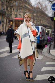 STYLE DU MONDE / Haute Couture SS 2014 Street Style: Lena Perminova  // #Fashion, #FashionBlog, #FashionBlogger, #Ootd, #OutfitOfTheDay, #StreetStyle, #Style