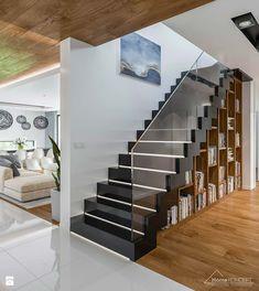 Projekt domu HomeKoncept 33 - Schody, styl nowoczesny - zdjęcie od HomeKONCEPT Projekty Domów Nowoczesnych