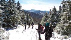 Descente du mont Saddle Crédit photo : M. Desharnais