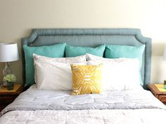 20 Versions of Headboards that You Can Totally DIY | World inside pictures