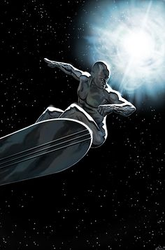 The Silver Surfer-The Arrival by *carstenbiernat on deviantART