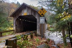 The Brown Covered Bridge is a wooden covered bridge in Shrewsbury, Vermont. Description from snipview.com. I searched for this on bing.com/images
