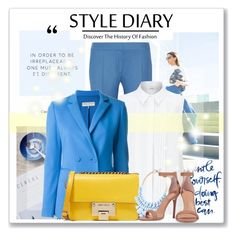 """Business sunshine :-)"" by tati1984 on Polyvore featuring STELLA McCARTNEY, John Lewis, Emilio Pucci, Jimmy Choo, 10 Corso Como and Halston Heritage"