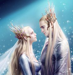Thranduil and his wife!