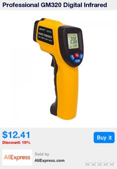 Professional GM320 Digital Infrared Thermometer Non-contact Temperature Tester IR Temperature Laser Gun Device Range -50 to 380C * Pub Date: 09:16 Aug 7 2017
