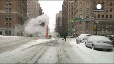 La tormenta de nieve en el nordeste de Estados Unidos fue menos destructora de lo previsto