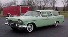 1958 Plymouth Custom Suburban Station Wagon
