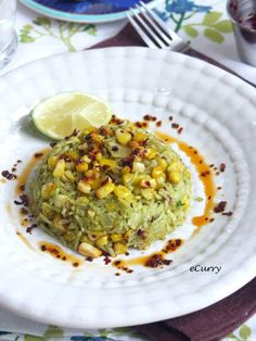 Roasted Hatch Chile and Corn Rice