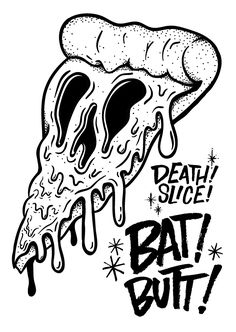 Death Slice X Bat Butt Merch on Behance