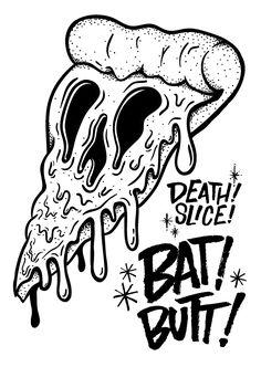 Death Slice X Bat Butt Merch on Behance