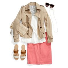 How To Wear Brights With White & Neutrals