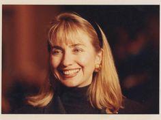 Silver Gelatin Portrait of Hillary Clinton, 1992