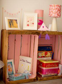 La chambre bébé d'Eva Marie