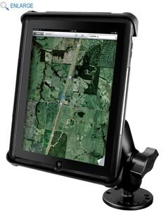 Ram mounts has a lot of choices for iPad mounts and they are very inexpensive!