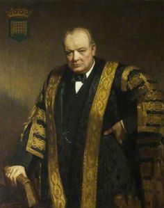 The Right Honourable Sir Winston Churchill (1874–1965), KG, OM, CH, MP, Chancellor (1929–1965)