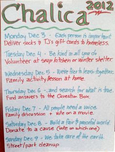 Parenting Beyond Belief - More for your Holiday: Try Chalica - 11/20
