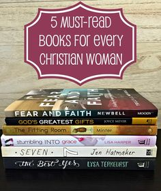 Naptime, Bible Study and Plans for Less - Wife Mommy Me  When life gets busy, attending to church is usually the first thing that gets skipped and pulled from our schedule. Today, I'm sharing 5 must-read books for the Christian woman.