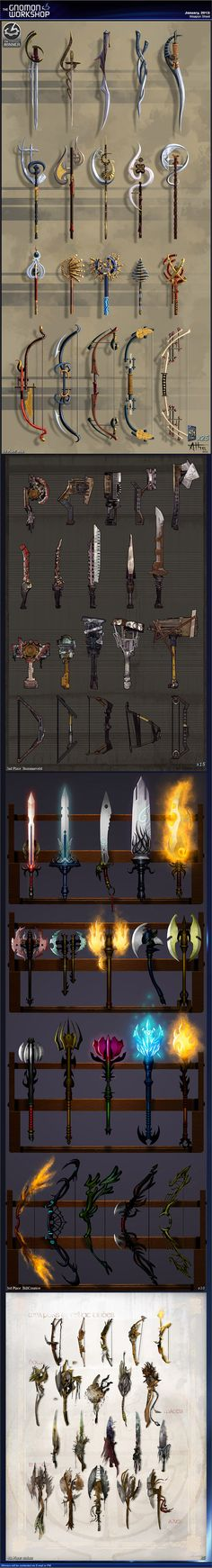Anthony: i like the idea of weapons being implemented in the game, these designs are really good