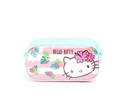 Amazon.com   Hello Kitty Cosmetic Bag  Tropical Pink   Beauty 2f0977691a6c2