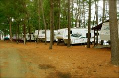 Mill Creek Bay RV Park in Fairmount, Texas on Toledo Bend.... where EVERY RV space is waterfront!!!