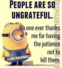 Minions are cute, Adorable and Funny ! Just like Minions, There memes are also extremely hilarious . So here are some very funny and cool minions memes, they will sure leave you laughing for a whi… Funny Minion Pictures, Funny Minion Memes, Minions Quotes, Hilarious Memes, Minion Humor, Minion Sayings, Funny Pics, Funny Stuff, Funny Images