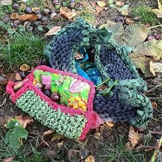 Borsa e pochette in jersey e seta #bag #pochette #jersey #silk #crochet #knitting #fall #autumn #etsy