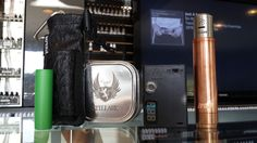 Cloud Chasers dream package! includes the following: Manhattan copper mod from AmeraVape Technologies comes with gold contact and copper contacts  sony vtc 5 18650 battery ohm reader aunthentic Stillare RDA vapesox with juice holder 22g kanthal wire (30ft) and a free juice! please call for price, this is sure to go fast at the price it is going for. also available in cloud chasers dream package is AR mod, hammer mod, and silver dragon mod