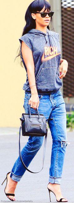 Street Style   Rihanna