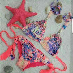 Lindos #VestidosDeBaño con pedrería para este #Verano disponibles en #LolaAccesorios #Playa #Brisa y #Mar