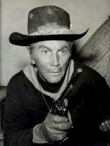 Cameron Mitchell as Uncle Buck Cannon on The High Chaparral TV Series in the 1960s