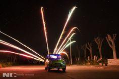 Tercer encuentro de fotografía nocturna en Epecuén 2017. Fotografía de Rodrigo Terren.