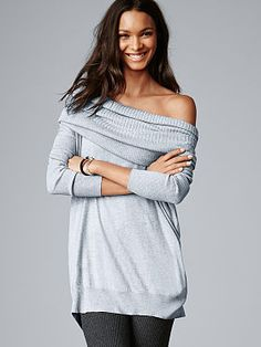 Victoria's Secret: The Multi-way Sweater. This is my Olivia Pope at home sweater.
