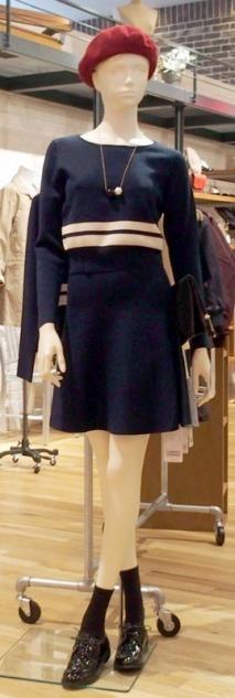 one piece knit - fashion in japan