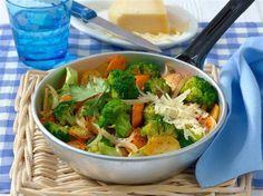Brokkoli kartoffelpfanne
