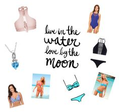 """Swimwear"" by laceyflexichick ❤ liked on Polyvore featuring Billabong, Zimmermann, Amanda Rose Collection, BLEU Rod Beattie and Victoria's Secret"