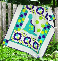 Dino Tracks quilt pattern by Deb Grogan | The Quilt Factory