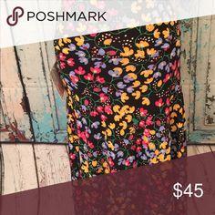 Maxi skirt floral XS LuLaRoe Skirts Maxi
