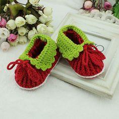 Handmade Crochet Baby Shoes Crocheting Baby Shoes Woven ♡ by rosetan, $15.99