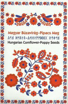 GYÓGYÍTÓ ERŐ és ŐSI TUDÁS a MAG-BAN! A virágmagvak magyarországi gyűjtésből származnak. A mag szinte minden ősi kultúrában jelen van, mint a kezdet, az újjászületés, de az élet, az örök körforgás, életerő és lehetőségek szimbóluma is. Ebben a megközelítésben a virágmagkeverék különösen alkalmas ballagási és esküvői ajándéknak, ajándék-kísérőnek is. Utal a diákévek megszűnésére, befejezésére és valami új, más minőség, új életfeladat kezdetére. Menyegző alkalmával pedig jelképezi magát az új… Folk Art Flowers, Flower Art, Motif Floral, Floral Design, Diy And Crafts, Arts And Crafts, Hungarian Embroidery, Scandinavian Design, Textiles
