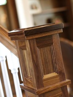 Newel Post Design, Pictures, Remodel, Decor and Ideas - page 16