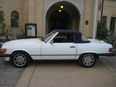 """1989-Mercedes-Benz-SL-Class ABOUT THE 560 SL:  PRODUCTION OF THE """"107"""" BEGAN  IN 1972 AND TERMINATED IN 1989 WITH THE 560SL. MERCEDES THUS HAD 17 YEARS TO CONTINUOUSLY IMPROVE THIS VEHICLE. IT HAS BEEN DUBBED """"THE PANZER WAGON"""" BECAUSE OF ITS WORKMANSHIP AND DURABILITY.  THE 560 SL WAS PRODUCED FROM 1986-1989 AND IS CONSIDERED TO BE THE MOST POPULAR AND COLLECTIBLE. WHEN THE LAST VEHICLE WAS PRODUCED IN 1989 IT SOLD FOR $64,000 (1989 DOLLARS), SO ONLY THE VERY WEALTHY COULD AFFORD THEM…"""