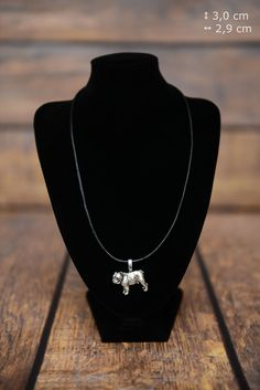 Hey, I found this really awesome Etsy listing at https://www.etsy.com/listing/398130447/bulldog-english-bulldog-dog-necklace