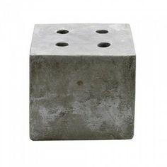 kandelaar bloomingville beton candle concrete