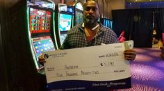 Congratulations to our latest jackpot winner, Anthony, for winning $5,092 on Cherries on Fire. Hooray for a great #winningmoment!