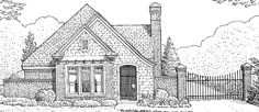 Eplans European House Plan - Two Bedroom European - 1530 Square Feet and 2 Bedrooms(s) from Eplans - House Plan Code HWEPL73256