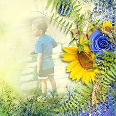 """"""" Field of sunflowers """" by Designs by Brigit"""