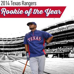 Rougned Odor - 2014 Rangers Rookie of the Year