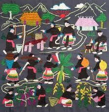 hmong story cloth - Google 搜尋